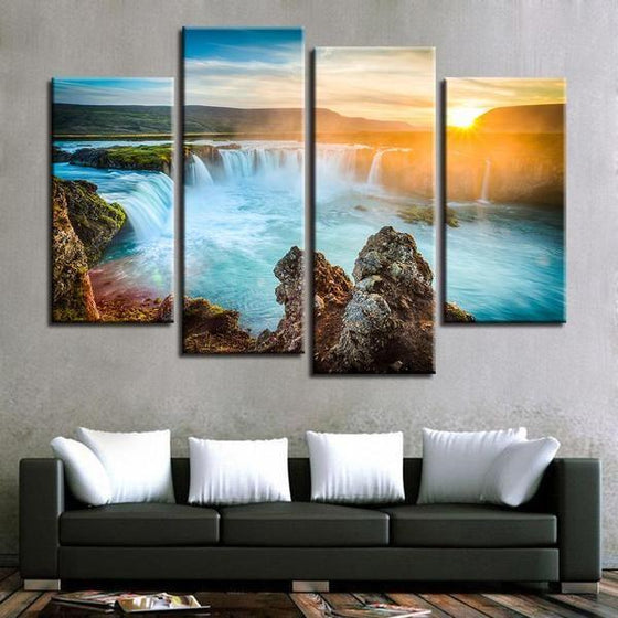 Canvas Wall Art Waterfall Canvas