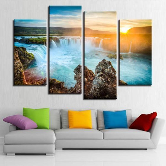Canvas Wall Art Waterfall Canvases