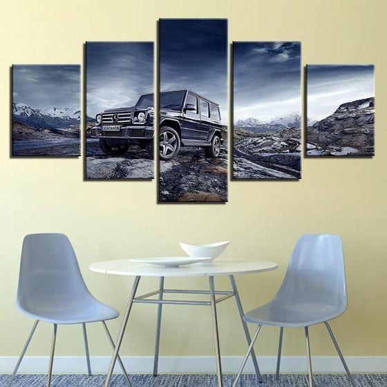 Car Themed Wall Art Idea