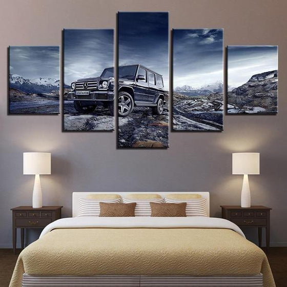Car Themed Wall Art Print