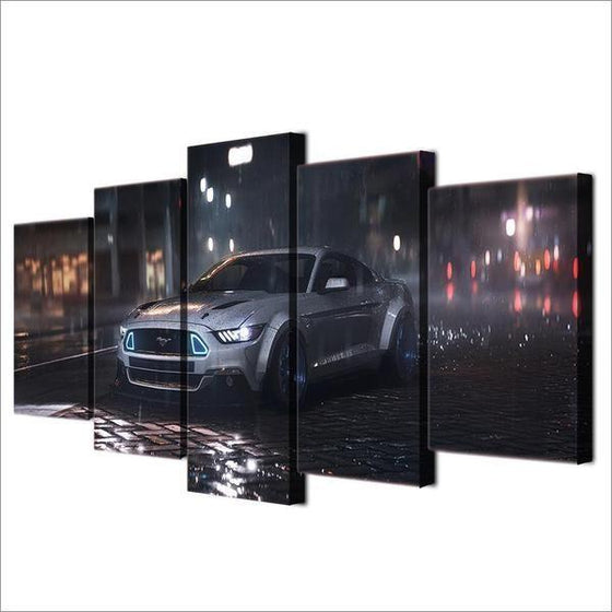 2015 Ford Mustang GT RTR Canvas Wall Art Decor