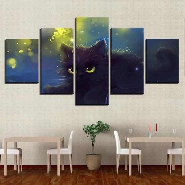 Cat Themed Wall Art Decor