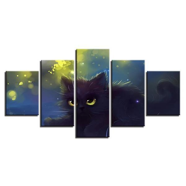 Cat Themed Wall Art Decors