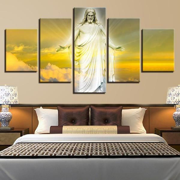 Jesus Christ Canvas Wall Art — canvasx.net