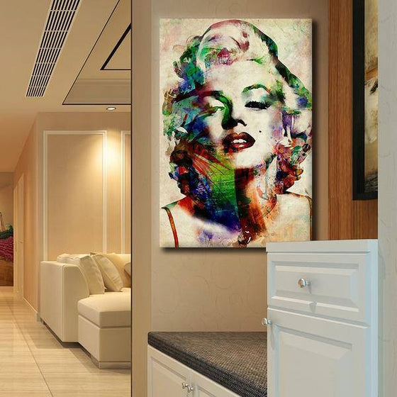 Charming Marilyn Monroe Wall Art Canvas