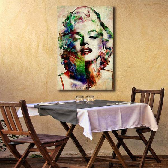 Charming Marilyn Monroe Wall Art Dining Room