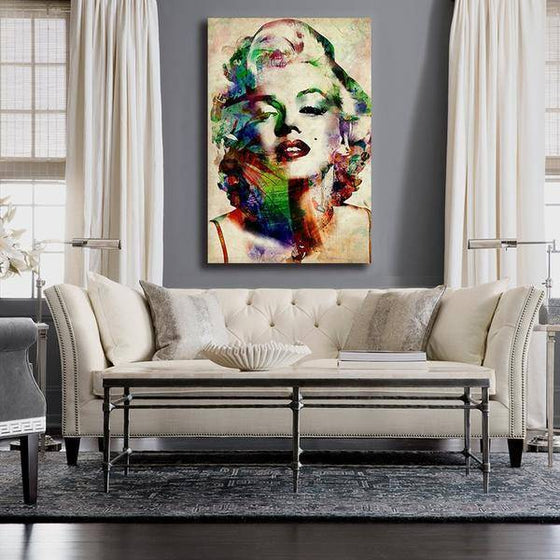 Charming Marilyn Monroe Wall Art Living Room