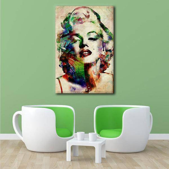 Charming Marilyn Monroe Wall Art Print