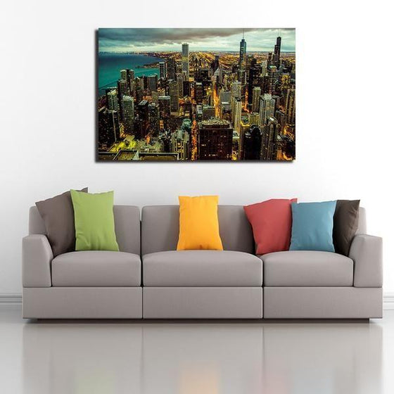Chicago City View Wall Art Ideas