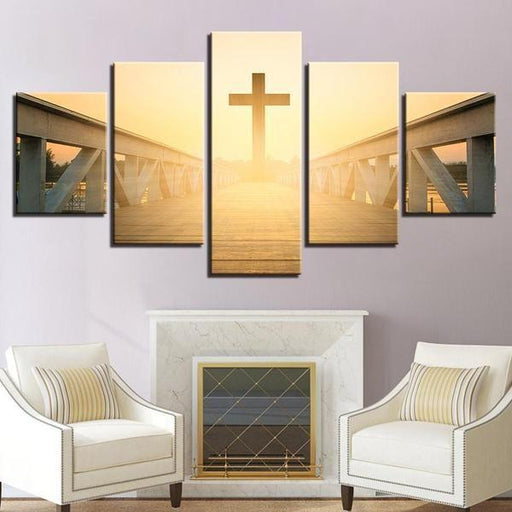 Christian Canvas Wall Art | Christian Inspirational Decorative ...