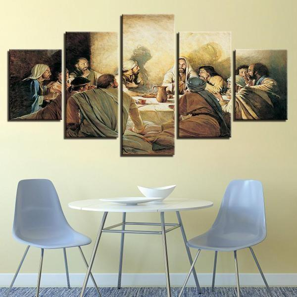 The Sacrament of the Last Supper Canvas Wall Art — canvasx.net