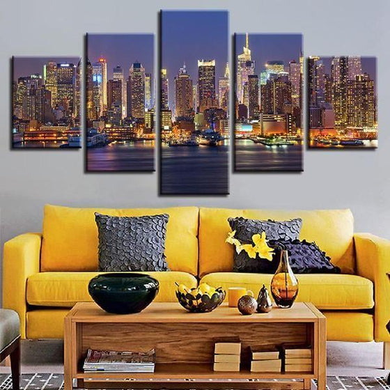 City Lights Wall Art Decor