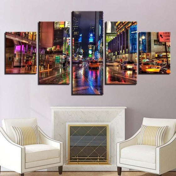 City Picture Wall Art Canvas