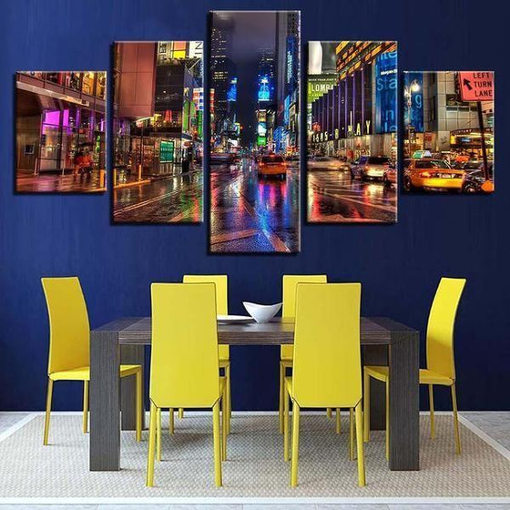 City Picture Wall Art Canvases