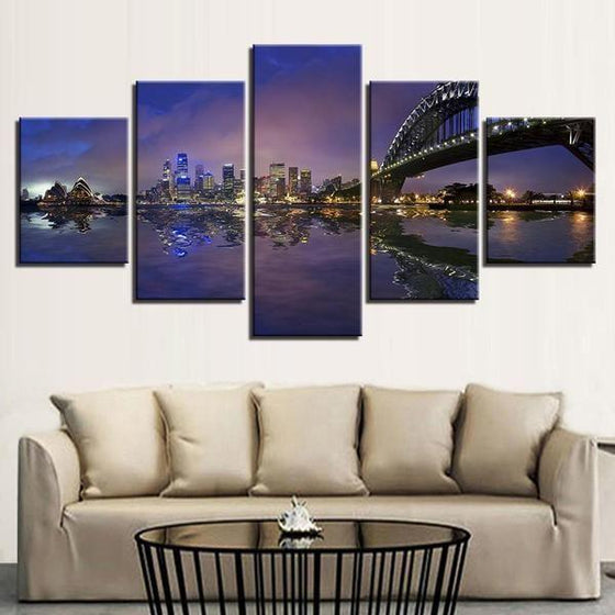 City Scene Wall Art