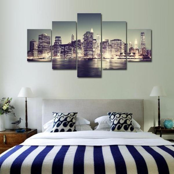 City Skyline Wall Art Decors