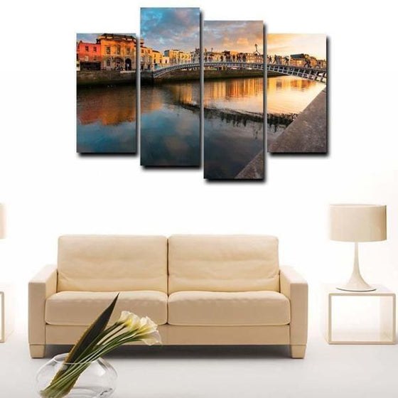 City View Wall Art Canvas
