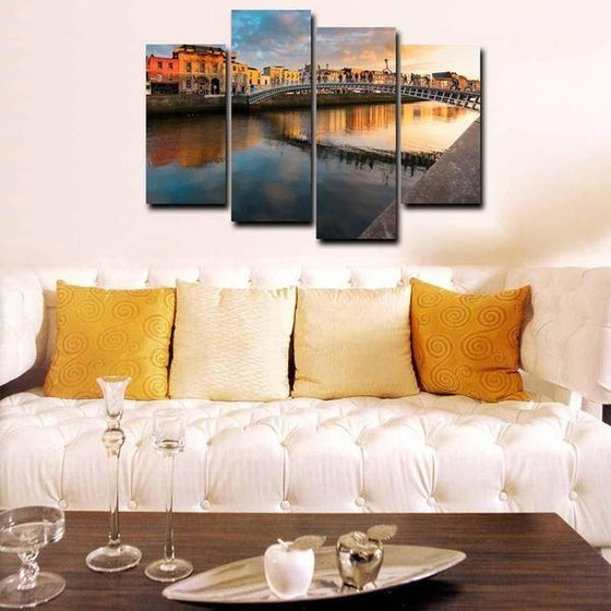 City View Wall Art Canvases