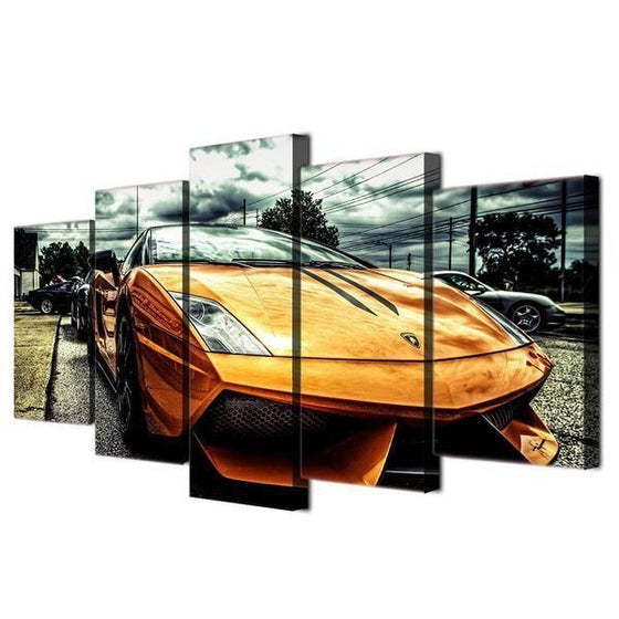 Classic Car Wall Art Canvases