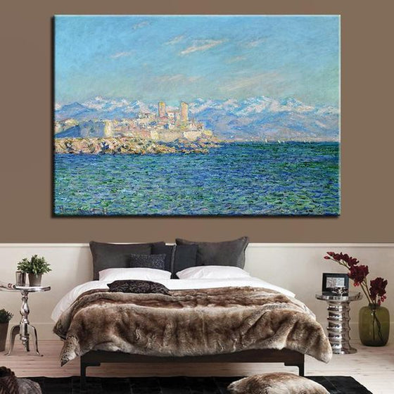 Antibes Afternoon By Claude Monet Canvas Wall Art Bedroom