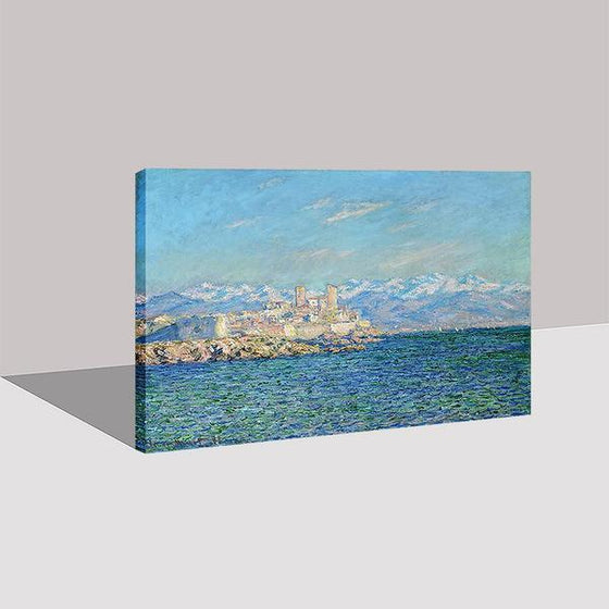 Antibes Afternoon By Claude Monet Canvas Wall Art Ideas