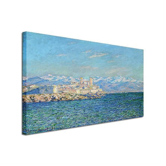 Antibes Afternoon By Claude Monet Canvas Wall Art Prints