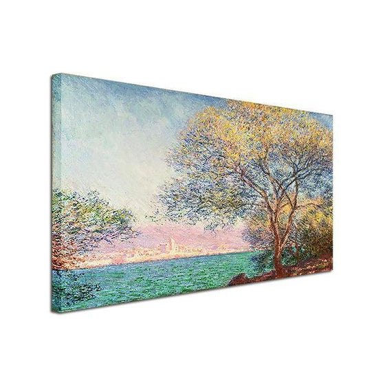 Antibes Morning By Claude Monet Canvas Wall Art prints