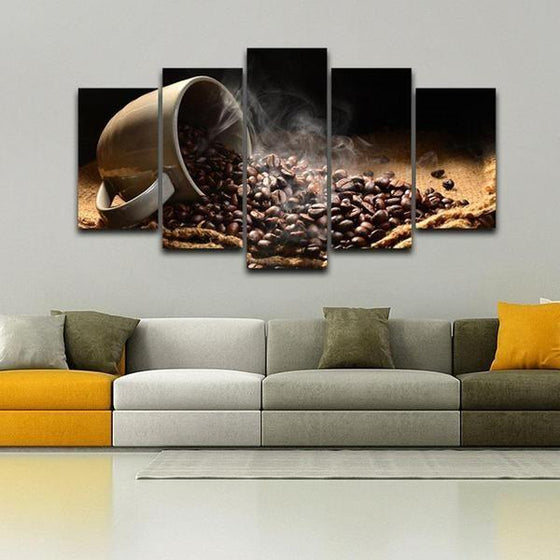Coffee Bean Wall Art Ideas