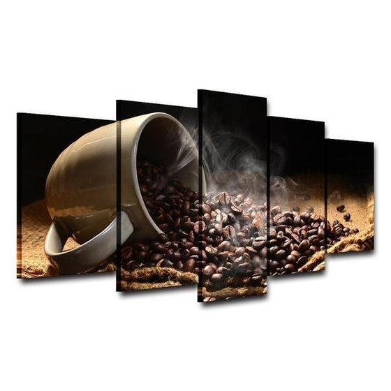 Coffee Bean Wall Art Print