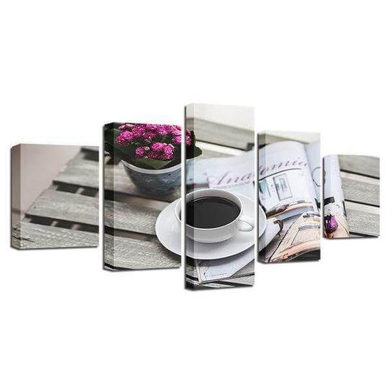 Coffee Cup Wall Art Metal Decors