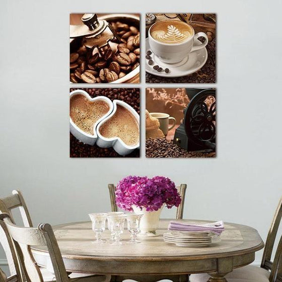 Coffee Kitchen Metal Wall Art