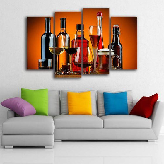 Cold Liquor Drinks Canvas Art Ideas
