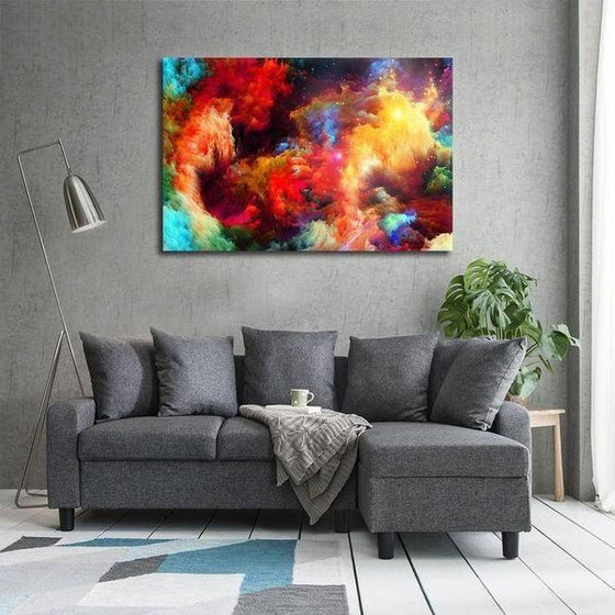 Colorful Modern Abstract Canvas Wall Art Decor