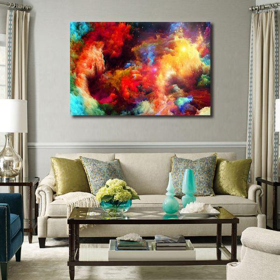 Colorful Modern Abstract Canvas Wall Art Decors