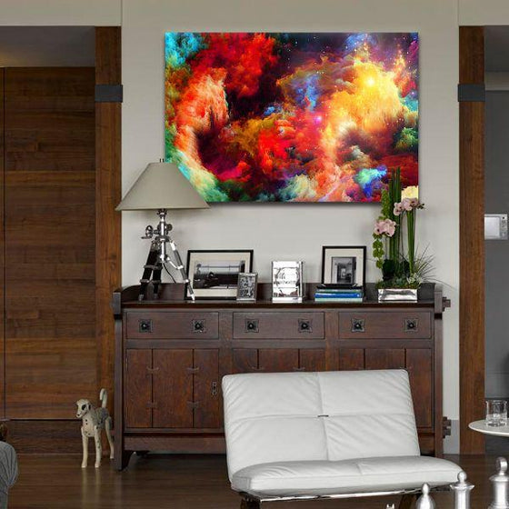 Colorful Modern Abstract Canvas Wall Art Ideas