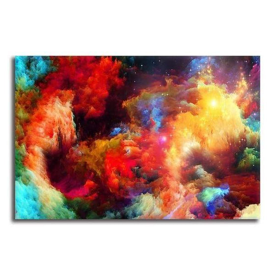 Colorful Modern Abstract Canvas Wall Art