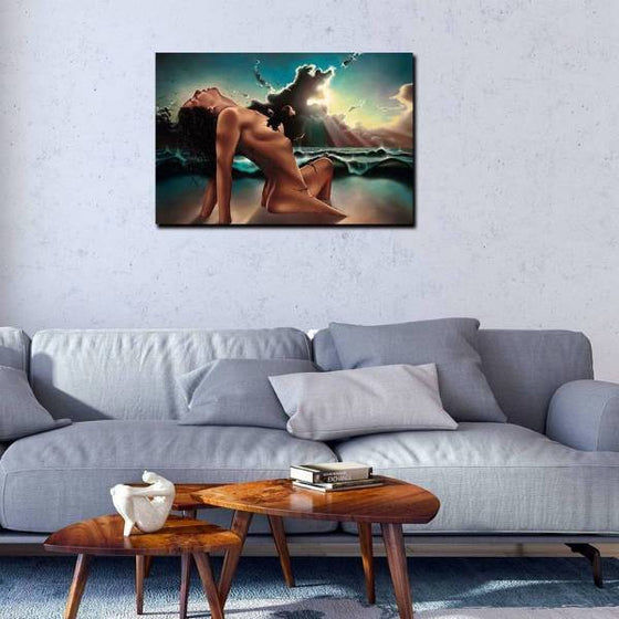 Contemporary Woman Body Wall Art Print