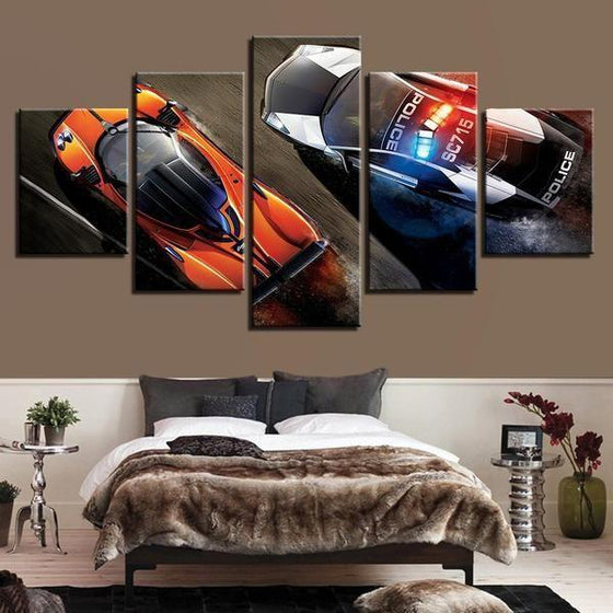 Cool Car Wall Art Canvases