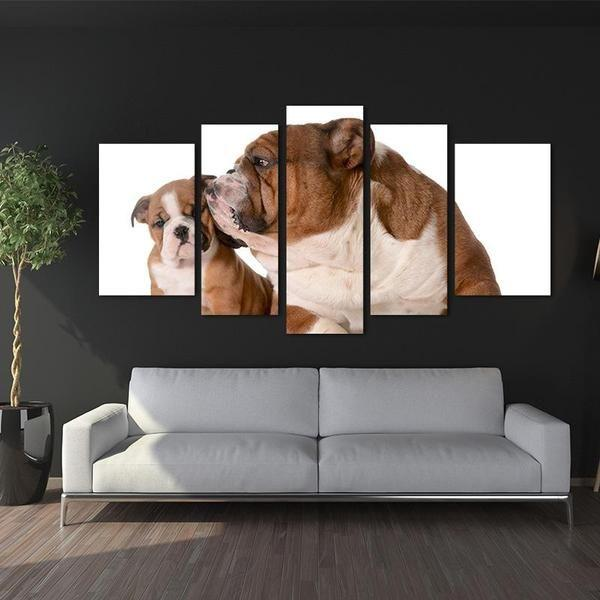 Dog Metal Wall Art Print