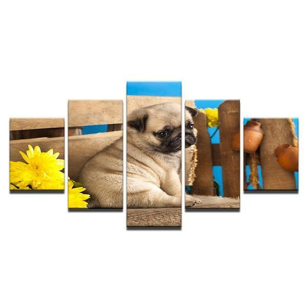 Dog Sayings Wall Art Canvas