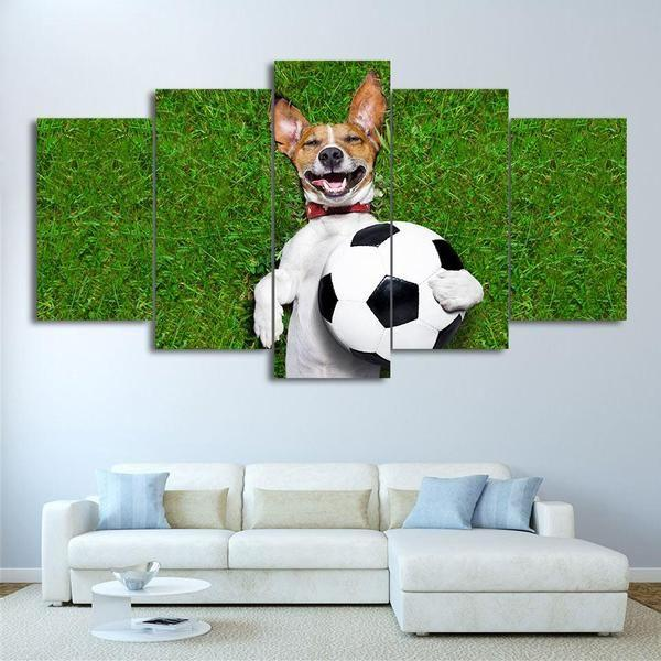Dog Wall Art For Nursery Canvas