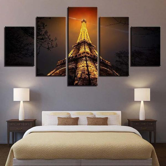 Eiffel Tower Architecture Wall Art Print