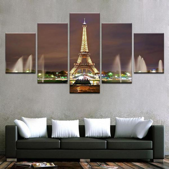 Eiffel Tower Architecture Wall Art