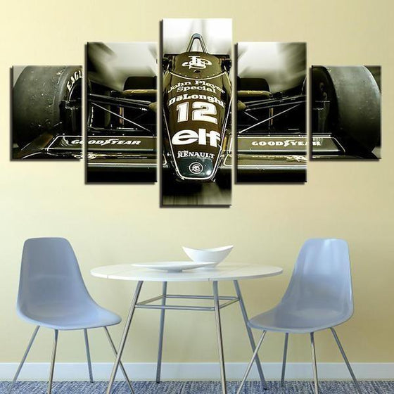 Renault JPS Canvas Wall Art Decor