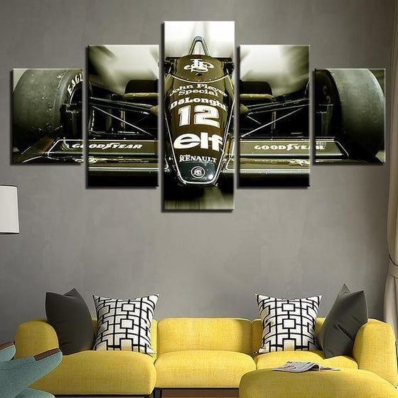 Renault JPS Canvas Wall Art For Living Room