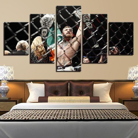Conor McGregor Canvas Wall Art Bedroom