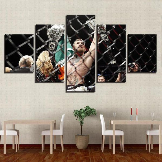 Conor McGregor Canvas Wall Art