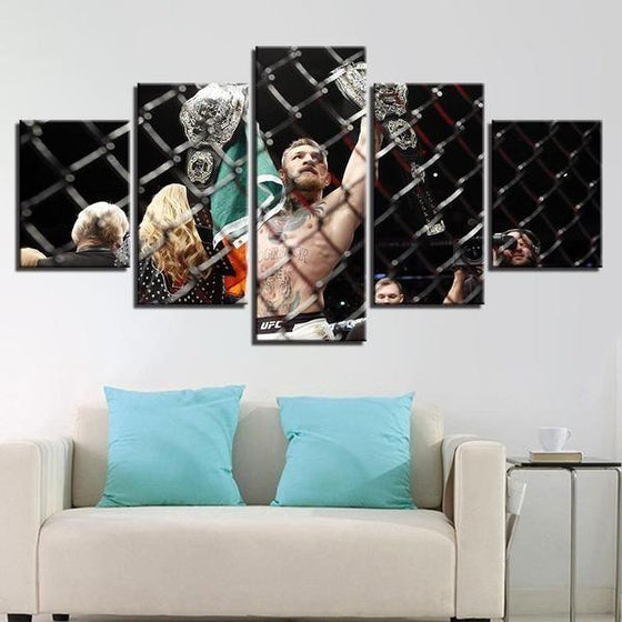 Conor McGregor Canvas Wall Art Home Decor