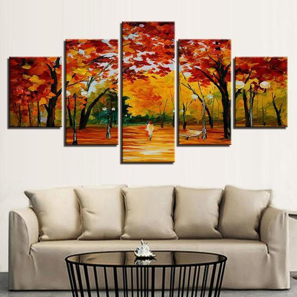 Fall Trees Wall Art