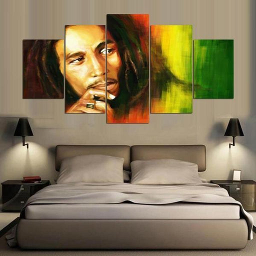 Famous Musician Wall Art Idea
